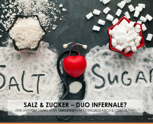 Wie stehen die Deutschen zu Salz & Zucker?
